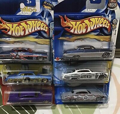 Hot Wheels Collection , 6 X Fish D Chip D Models , All Mint Boxed • 20£