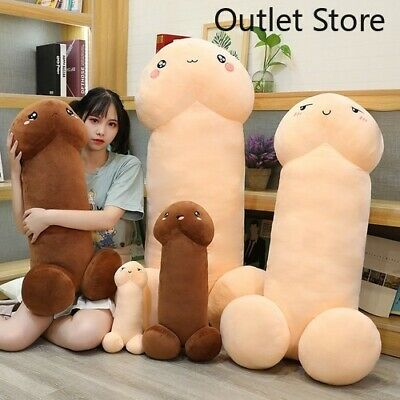 Simulation Funny Penis Plush Toy Stuffed Soft Dick Doll Plush Pillow Toy Gifts • 9.55£