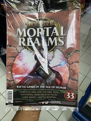 Mortal Realms Partwork Issue 33 Stirland Mud + Texture Tool  • 11.50£