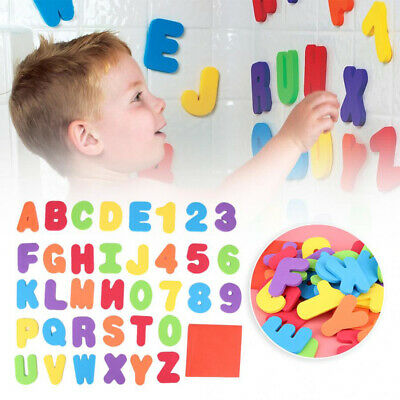36Pcs Foam Bath Numbers And Letters Child 123 ABC Kids Bath Toy Water Fun CA UK • 5.39£