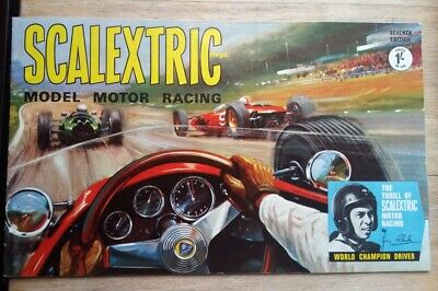 Scalextric Catalogue 7th Edition From 1966 - Excellent Condition • 12.50£