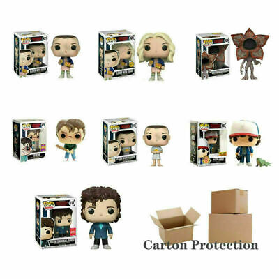 UK Funko POP Limited Edition Stranger Things Eleven DUSTIN STEVE Figure Toy Gift • 12.99£