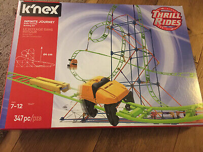 Knex, Thrill Rides. 15407 Roller Coaster. Opened But Never Build. Complete • 9.99£