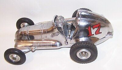 Chrome Plated Thimble Drome  Champion  Mite Gas Powered Tether Car W/ .19 Engine • 185.70£