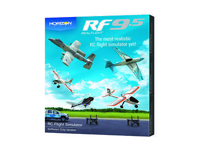 RealFlight 9.5 RC Flight Simulator Software Only A-RFL1201 • 94.85£