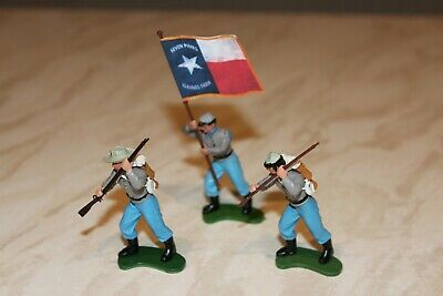 Britains Swoppet ACW 3 Confederate Infantry. Near Mint.  • 19.99£