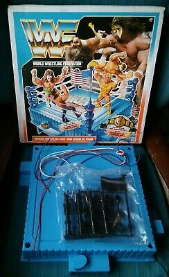 Boxed Wwf Hasbro Wrestling Ring - No Belt Or Stickers - New Unused - Wwe • 174.99£