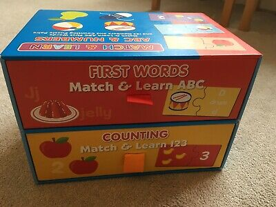 Match And Learn Numbers And Alphabet Age 3+ • 3.99£