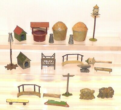 F12 Lot Of Lead Farm Accessories. Britains, Hill, Taylor Etc  • 14.99£