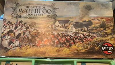 VINTAGE BOXED 1975 AIRFIX HO-OO SCALE The Battle Of Waterloo Assault Set • 22£