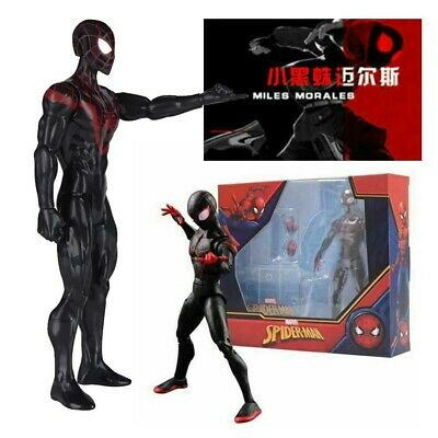 UK Marvel Spider-Man Miles Morales Into The Spider-Verse Action Figure Toy Model • 13.22£