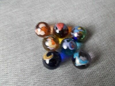 7 Assorted Pokemon Glass Marbles  - Used • 0.99£