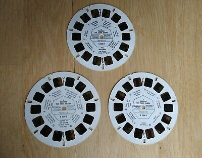 Thomas The Tank Engine Viewmaster Stereo Reels Set D238 (1984) • 7.99£