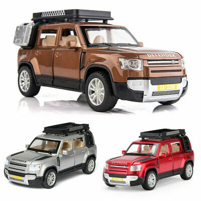 1:32 All-New Land Rover Defender Diecast Model Car Toy Collection Light&Sound • 13.44£