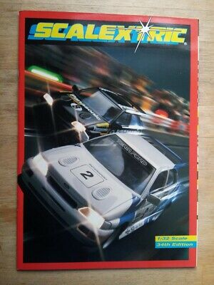 Scalextric Catalogue 34th Edition From 1993 With Price List - Mint Condition • 3.50£