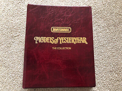Matchbox MODELS Of YESTERYEAR The Collection Binder 1st Edition • 10£