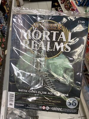 Mortal Realms Issue 36 Azyrite Bell Tower Age Of Sogmar Battle Games Prime Inner • 12£