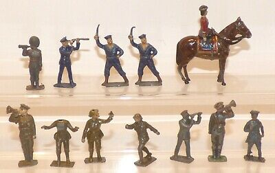 B22 - Lot Of Hill, Crescent, Britains, Officers, Observors Etc • 9.99£