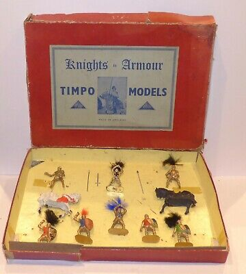 K12 - Timpo Boxed Set KN12 - Knights In Armour. Contents Complete But Incorrect • 99.99£