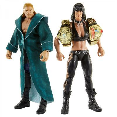 Chyna & Triple H Elite 2 Pack Mattel Brand New Sealed WWE Action Figure • 40£