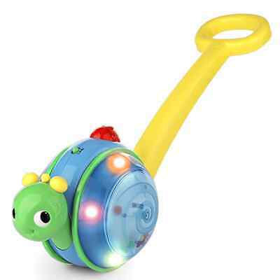 Bright Starts Roll & Glow Snail Colourful Sense Stimulation Music Light Toy • 39.90£