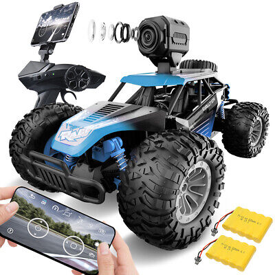GizmoVine Remote Control Car With Camera, RC Cars 1:14 Scale Off-Road Monster • 33.99£