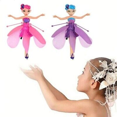 Induction Control Flying Fairy Princess Dolls Infrared Magic Toy Kids Child Gift • 8.99£