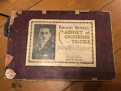 The Ernest Sewell Cabinet Of Conjuring Tricks, Vintage Magic  • 75£