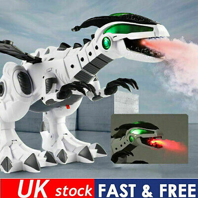 Electric Walking Dragon Toy Fire Breathing Water Spray Dinosaur Christmas Gift/ • 15.35£
