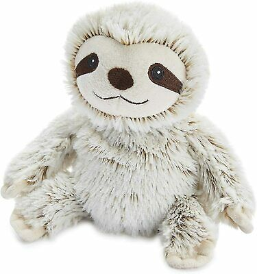 Warmies Cozy Plush Junior Marshmallow Sloth Lavender Scented Microwavable Toy • 8.99£