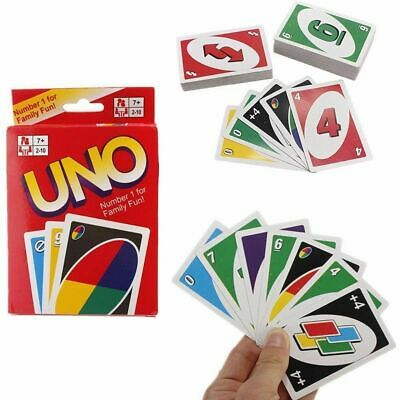 Uno Card Game 108 Playing Cards Indoor Family Children Friends Party Gift Uk Fun • 2.20£