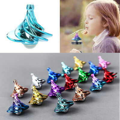 Spinning Top Wind Gyro Wind Blow Turn Airflow Gyro Decompression Daily Toys Gift • 7.12£