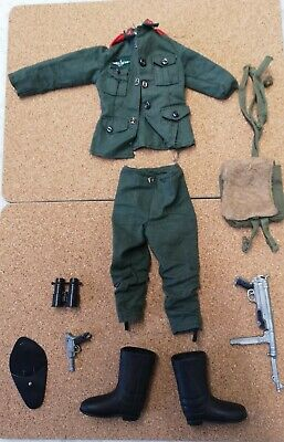 Vintage Action Man German Infantry PART OUTFIT • 37£