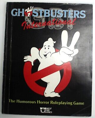 West End Games GHOSTBUSTERS INTERNATIONAL Role-Playing Game - W13 • 4.99£