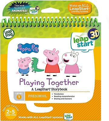 LeapFrog Leapstart Nursery: Peppa Pig Story Book (3D Enhanced) • 11.24£
