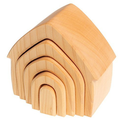 Spiel & Holz Design Stacking House - Natural • 43.18£