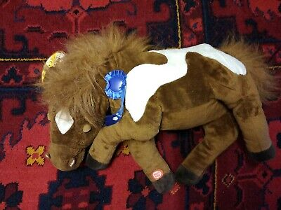 Snorin Horse  Breathing Chewing Talking Lazy Horse Pony  Soft Toy 20  Long • 12£