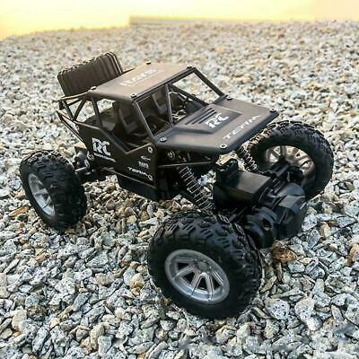Kids Toy RC Car Truck Off-Road Vehicle 2.4G Remote Control Buggy UK 1:18 Crawler • 17.89£