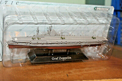DeAGOSTINI 1:1250 WARSHIP COLLECTION - GRAF ZEPPELIN AIRCRAFT CARRIER • 7.99£