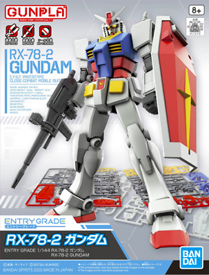 Bandai Model Kit - Eg Rx-78-2 Gundam 1/144 - Gunpla • 17.25£