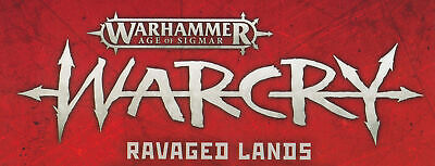 Warhammer Age Of Sigmar Warcry Ravaged Lands Board Packs With Cards • 25.69£