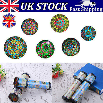 20cm Kaleidoscope Children Toys Kids Educational Science Classic Gifts • 5.99£