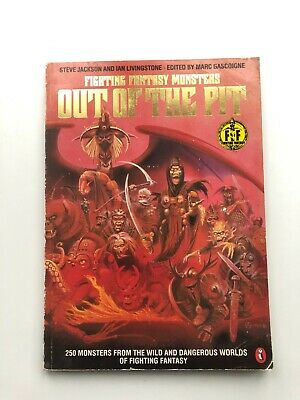 Fight Fantasy Monsters - OUT OF THE PIT - Art (Steve Jackson,Ian Livingstone) A4 • 39.99£
