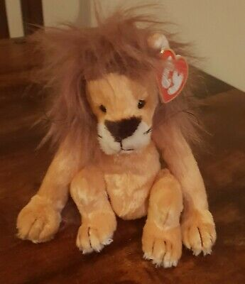 Ty Attic Treasures Collection Kingston Lion Plush Soft Toy Stuffed Animal 7   • 14.99£