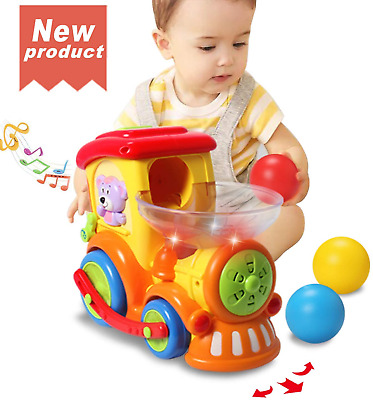 ACTRINIC Baby Toy 12-18 Months,Early Educational Electric Train With Chasing ... • 36.43£