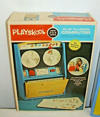 Playskool Play 'n Learn Computer Playset Boxed Sharp! • 31.06£
