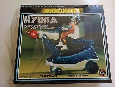 Vintage Airfix Micronauts Hydra (Boxed) 1976 • 140£