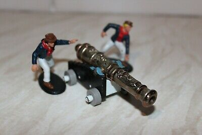 Britains Crew  From 9736 Naval Set + A Britains Cannon. • 9£