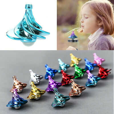 The Wind Blows The Airflow Gyro Decompression Toy Gift Spinning Top Wind Gyro UK • 5.60£