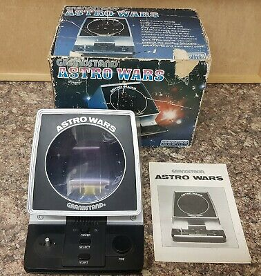 Boxed Grandstand Astro Wars Vintage 1981 Tabletop Electronic Game  • 46£